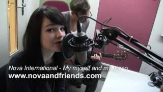 Nova international - Me myself and my piano - LIVE bei RADIO TOP