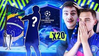 OTWIERAMY z PLKD 20 PACZEK UEFA CHAMPIONS LEAGUE! MAMY WALKOUT! | FIFA 19