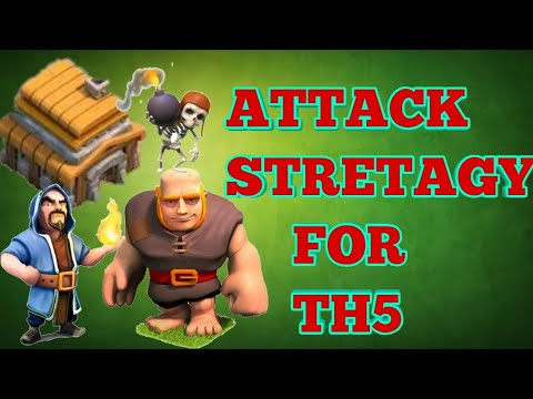 Attack Stretagy For Th5 | 3 Star Stretagy | GWIHO