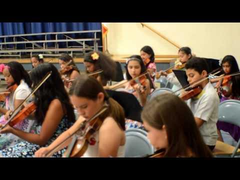 Treeview Elementary School Spring Concert.