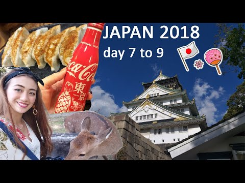 Tourist spots and shopping in Japan // Japan 2018 - Day 7 to 9