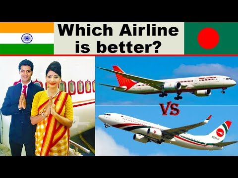 Air India vs Biman Bangladesh Airlines Comparison
