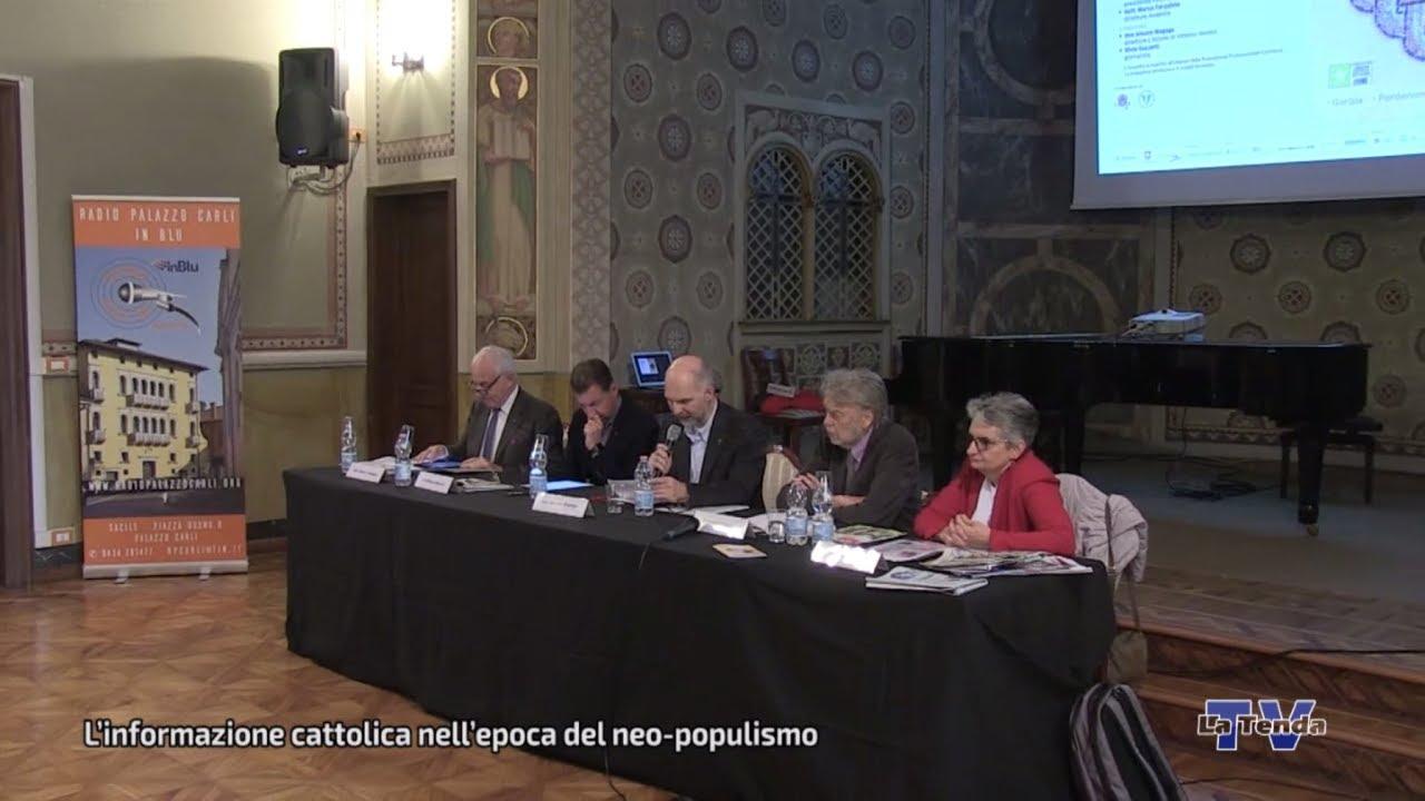 L'informazione cattolica nell'epoca del neo-populismo