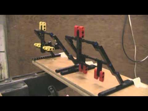 Lego Self Resetting Target Range - YouTube