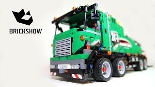 Lego Technic 42008 Service Truck - Lego Speed build