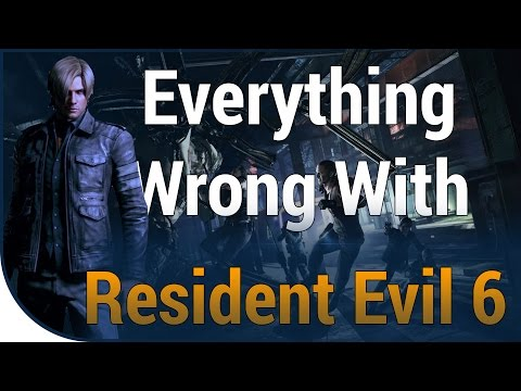 GAME SINS | Everything Wrong With Resident Evil 6 In A Whole Lot Of Minutes