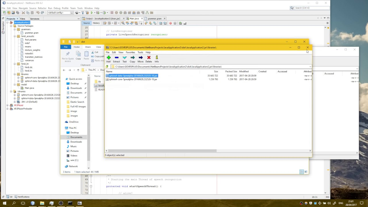Building Sphinx4 5 Project with NetBeans Part 2