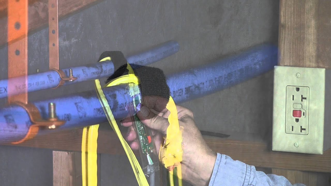 Wrap On Pipe Heating Cable Installation Youtube