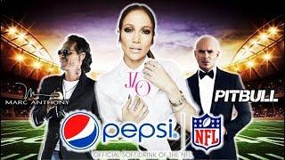 Jennifer Lopez, Pitbull & Marc Anthony - Super Bowl Halftime Show