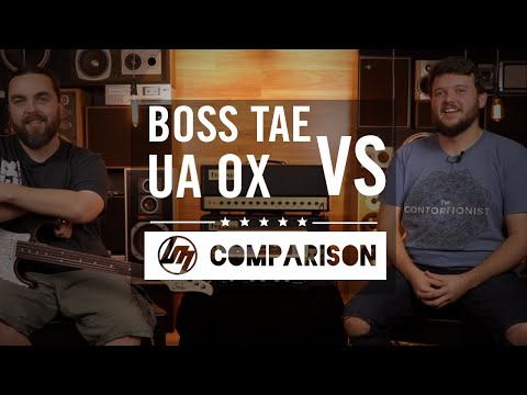 BOSS Waza Tube Amp Expander vs Universal Audio OX   Better Music