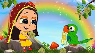 আতা গাছে তোতা পাখি | Ata Gache Tota Pakhi | Bangla Cartoon | Bengali Rhymes | Moople TV Bangla