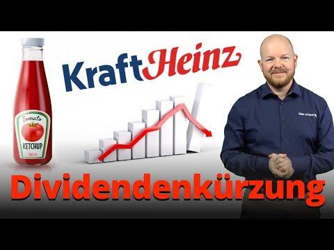 Dividendenkürzungen am Beispiel der Kraft Heinz Aktie erklärt