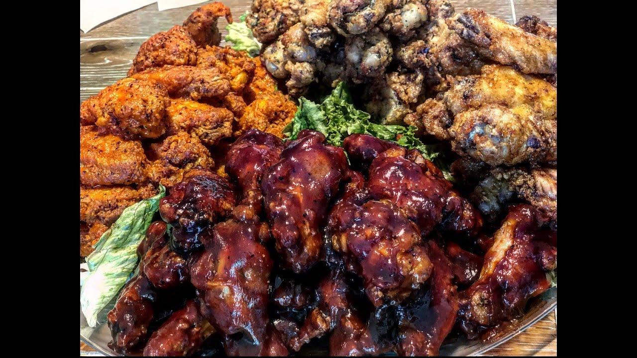 Wings, Wings, and more Wings (buffalo, honey BBQ, honey old bay, lemon pepper)