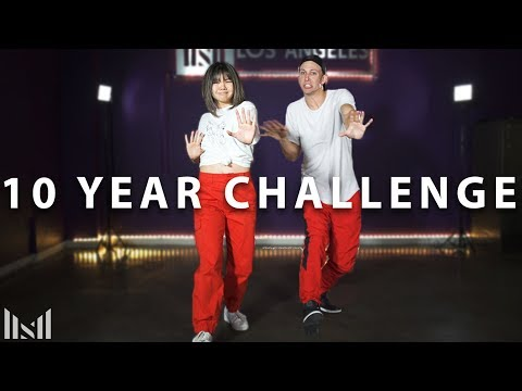 10 YEAR DANCE CHALLENGE ft Bailey Sok |  Get Ur Freak On  - Missy Elliot