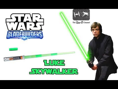 Star Wars Bladebuilders Luke Skywalker Lightsaber Return Of The Jedi The Dan O Channel Youtube