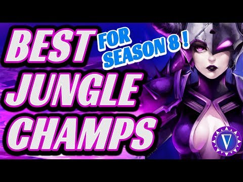 Top Junglers For Season 8 - (17 Champs With Runes!)