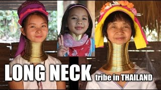 Suab Hmong TRAVEL in ASIA Episode 5 - Visited Long Neck tribe in Mae Rim, Thailand
