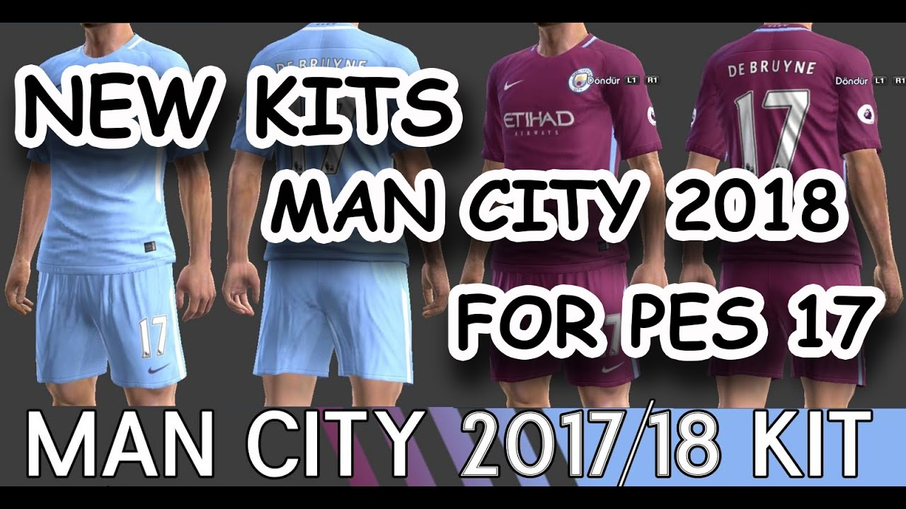 abc08370a new kits manchester city 2018 for pes17 – youtube. Download Image 1280 X 720