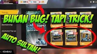 BUKAN CHEAT!! BEGINI CARA DAPETIN DIAMOND GRATIS DI FREE FIRE!! 100% WORK!! | Free Fire Indonesia