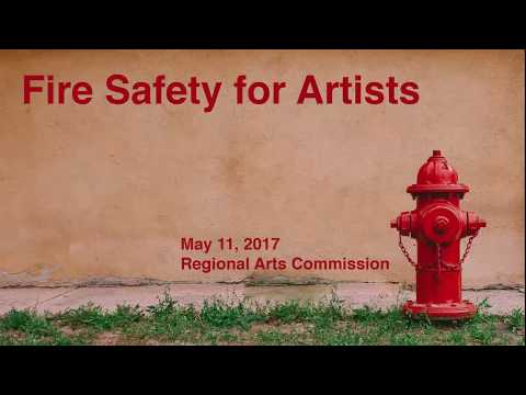 Fire Safety for Artists