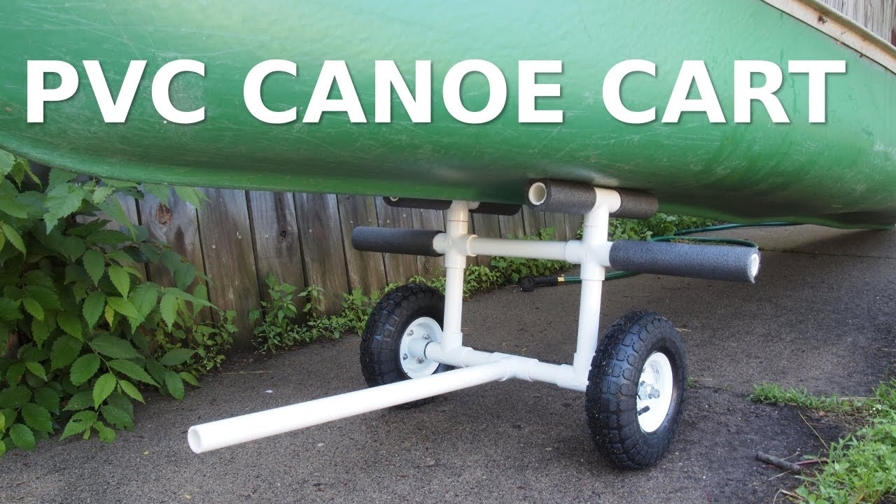 DIY PVC Canoe Kayak Cart