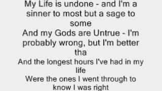 sulfur slipknot with lyrics