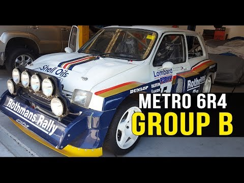 The WILD Group B MG Metro 6R4