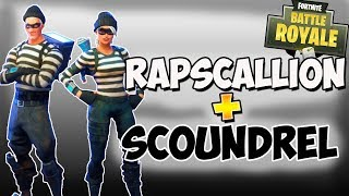 RAPSCALLION AND SCOUNDREL SKINS IN FORTNITE! Fortnite Robbery skins! Item shop - Sunday June 3rd