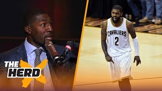 Does Kyrie Irving want away from LeBron James and the Cavaliers for the right reason? | THE HERD thumbnail