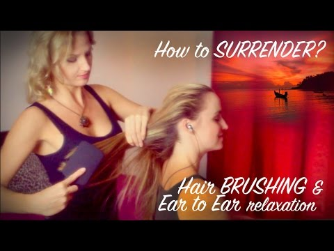 ASMR HAIR Brushing With EAR To EAR Soft Spoken ASMR Relaxation For SLEEP With Psychetruth's Joy