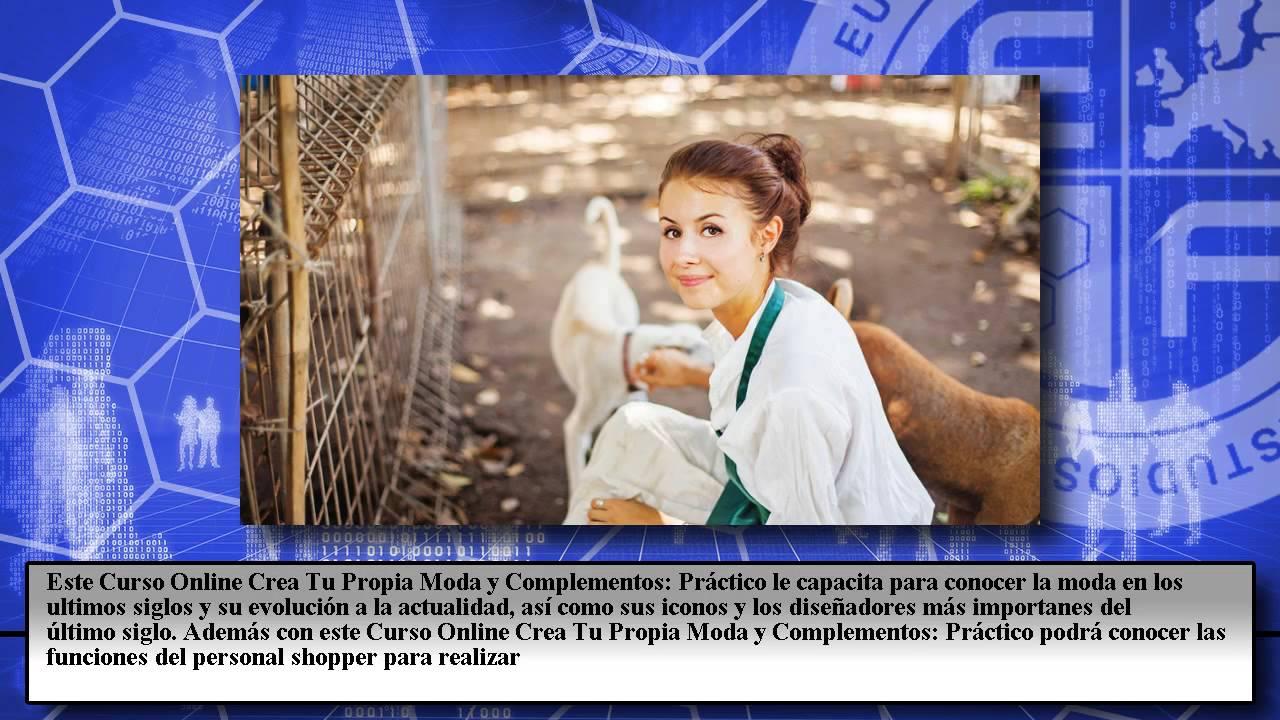 563e8f75657c Crea Firma Moda Complementos - Cursos Online - YouTube
