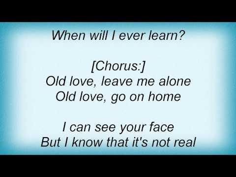 Eric Clapton - Old Love Lyrics