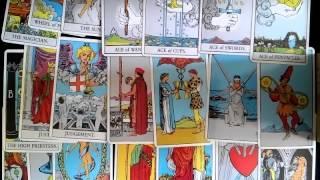 塔羅影片教學﹕塔羅初學者方法(7) 小祕儀1-3號牌