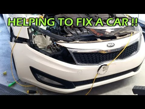 Helping A Friend To Fix Her Car!
