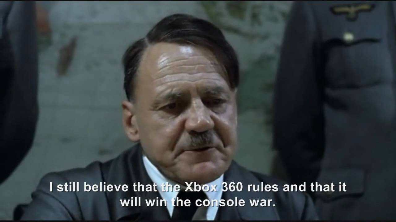 Hitler plans to buy an Xbox 360