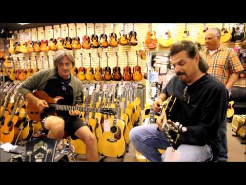 Mikey Wright & Allen Hinds at Norman's Rare Guitars