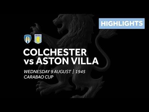 Colchester United 1-2 Aston Villa | Extended highlights