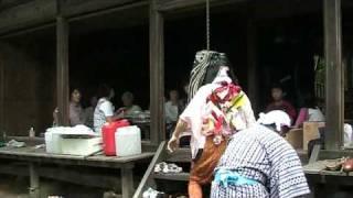 木幡山学頭愛宕神社の三匹獅子舞 五 2009.8.2