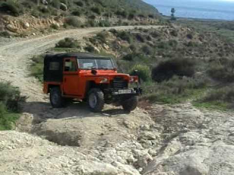 land rover santan 88 ligero - youtube