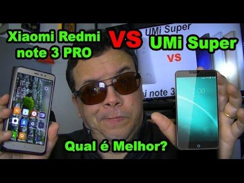 Umi Super melhor que o Redmi Note 3 PRO.....