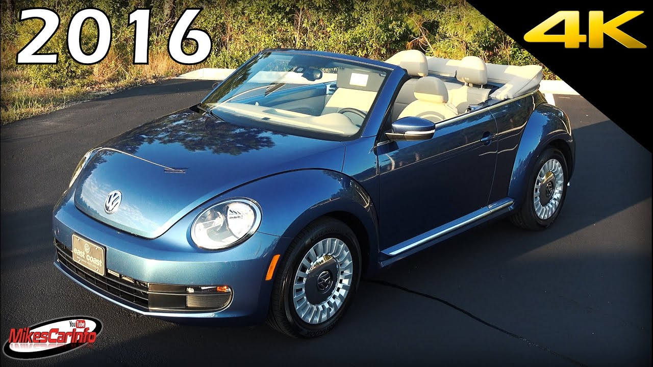 2016 Volkswagen Beetle Convertible Ultimate In Depth Look 4k