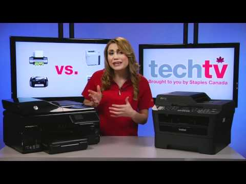Inkjet vs. Laser Printers - Which one is right for you?