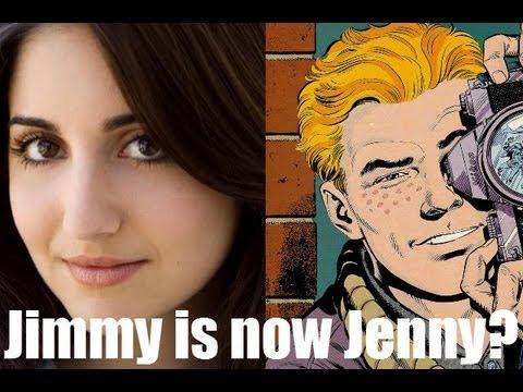 Jimmy Olsen a Woman in Man of Steel?!?! (COMICS!)