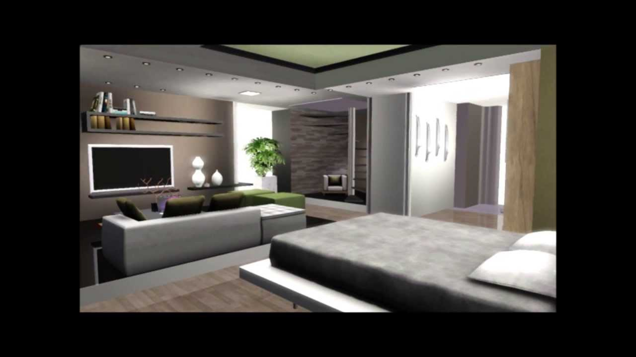 Luxury oasis villa the sims 3 youtube for Apartment design sims 3