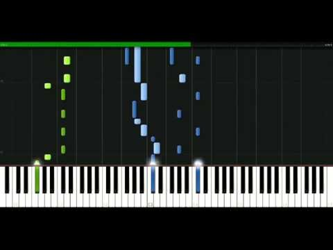 Outkast - The whole world [Piano Tutorial] Synthesia   passkeypiano