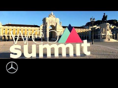 Mercedes-Benz at the Web Summit 2017 in Lisbon | 60 Seconds | Sascha Pallenberg