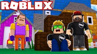ROMPERE INTO CRACIANDO VICINI CASA!!! / ROBLOX HELLO NEIGHBOR