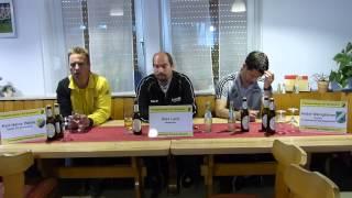 Pressekonferenz zum Spiel SV Morlautern - Alemannia Waldalgesheim 0:1