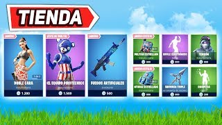 'NEW DOUBLE SKIN FACE' FORTNITE STORE 4 juillet