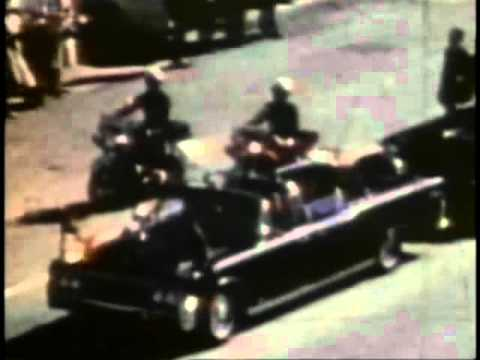 John F. Kennedy - November 22, 1963 - Rare film of motorcade